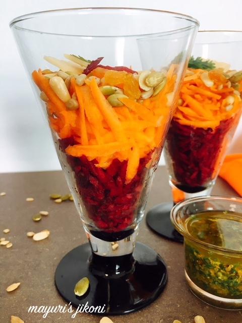 Beetroot Carrot Salad 3