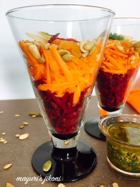 Beetroot Carrot Salad 3