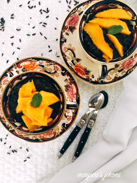 Black Rice Pudding 1
