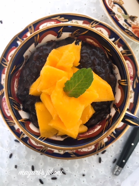 Black Rice Pudding 3
