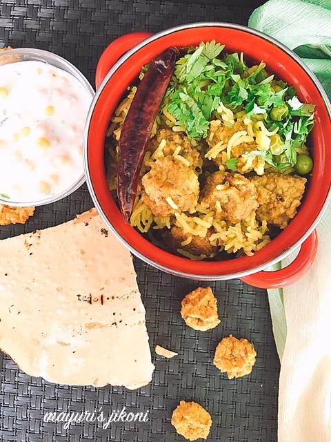 Punjabi Vadiya Pulav 1