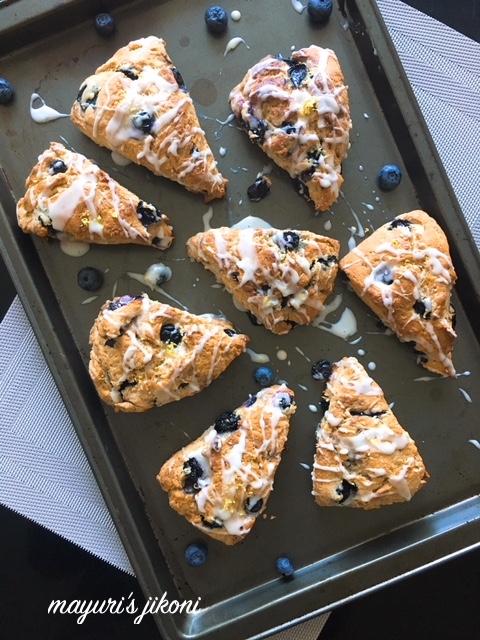 blueberry buttermilk scones 1