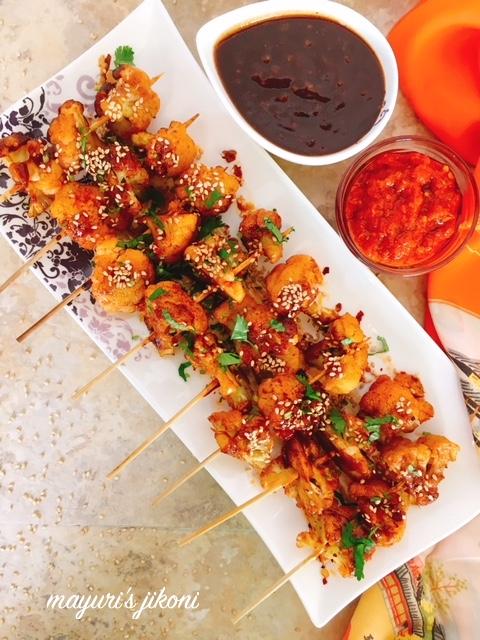 grilled cauliflower-indochinese style 2
