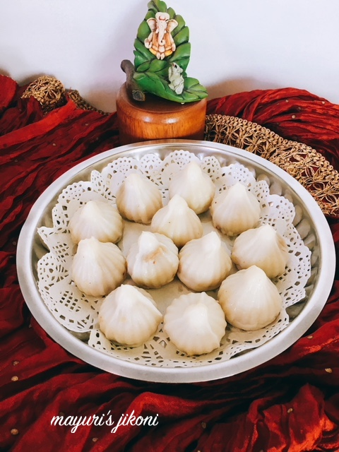 Steamed Modak 1