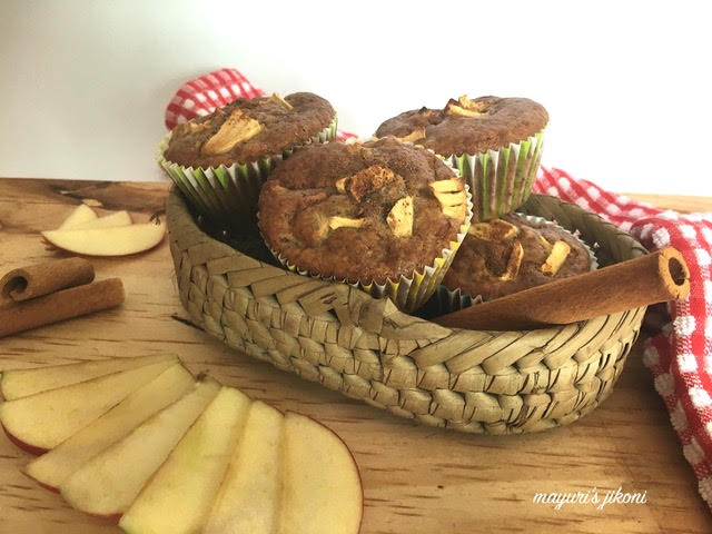 apple cinnamon muffins 2