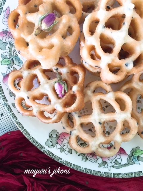 rose cookies 5