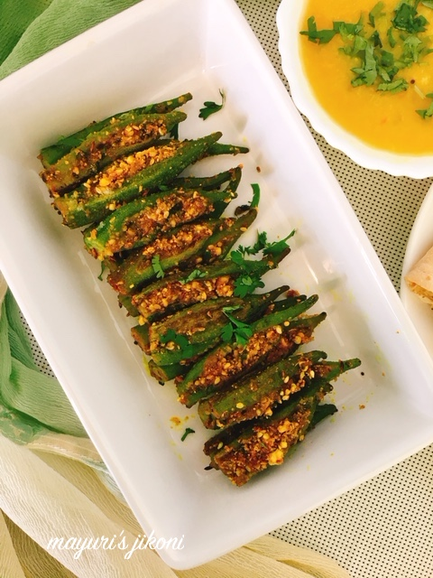 stuffed bhindi 2