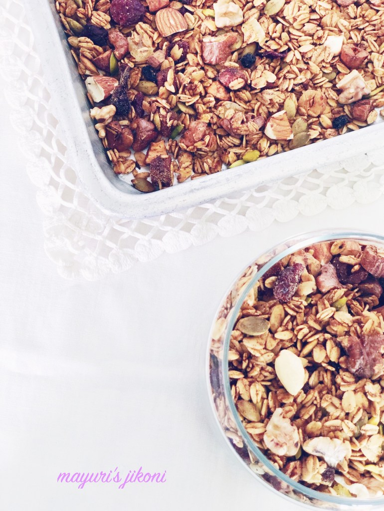 This image has an empty alt attribute; its file name is Fruit-and-Nut-Granola-2-1.jpg