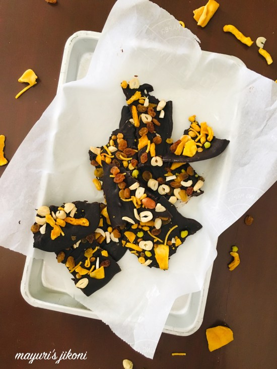 Bombay Mix Chocolate Bark 2