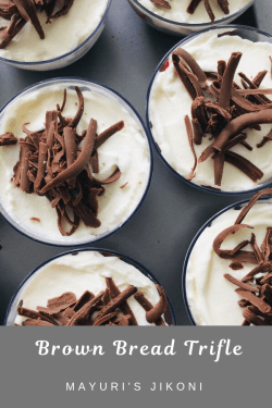 brown bread trifle