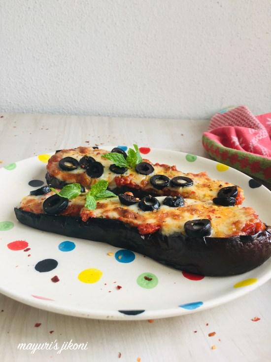 eggplant mini pizza 4