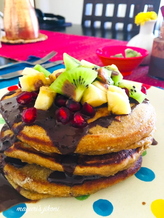 wholewheat pancakes 5