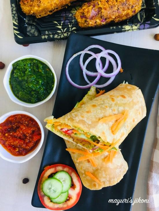 veg kebab paratha 7