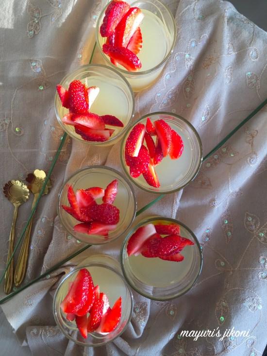 lemongrass and ginger jelly 1