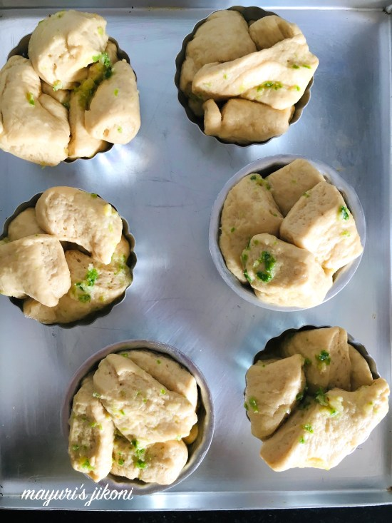 garlic and chilli pull apart bread 1