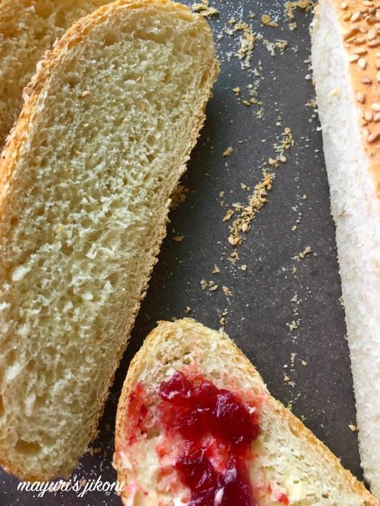 semolina sesame seed bread 9