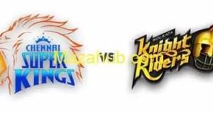 Chennai Super Kings vs Kolkata Knight riders Preview