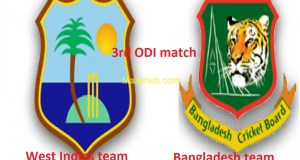 Bangladesh vs West Indies 3rd ODI