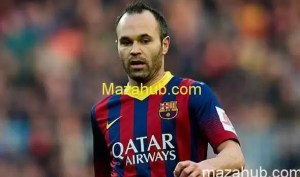 Andres Iniesta Top 10 Footballers of world