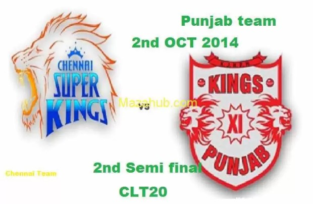 Kings XI Punjab vs Chennai Super Kings Semi Final 2