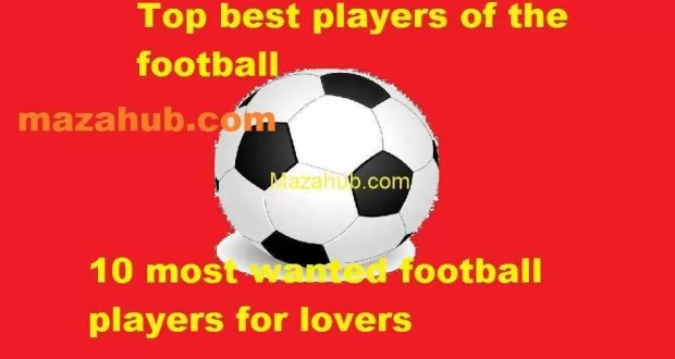 Top 10 Footballers and their brief stats