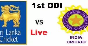India vs Sri Lanka 1st ODI