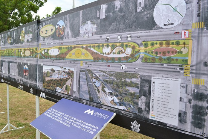 Mazatlan roundabout by the Linear Park will be modified - The Mazatlán Post
