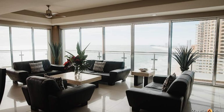 Mazatlan- 2 bedrooms in Solaria-Penthouse For Sale-Mazatlan4Sale -1