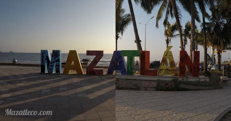 Mezcla de las 2 letras de Mazatlan