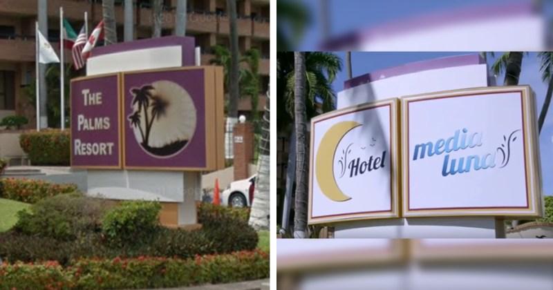 Hotel media luna en Mazatlan
