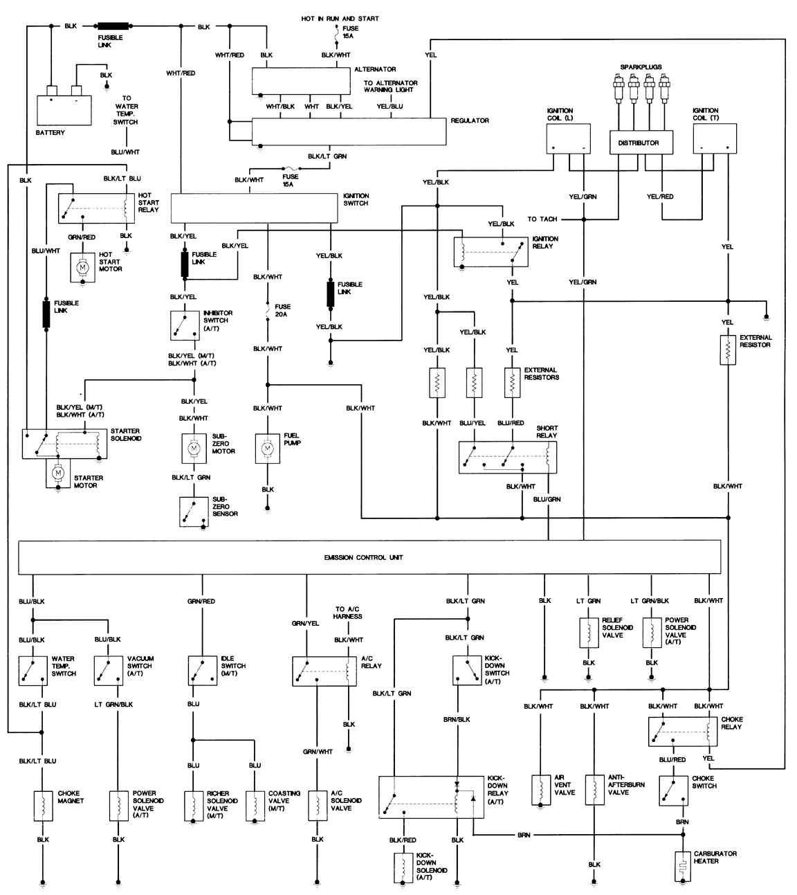 1983 mazda 626 motor diagram wiring library
