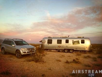 Clark Dry Lake campsite