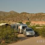 Burro Creek BLM campground in N AZ, Rt 93