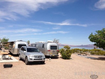 Lake Mead Airstreams
