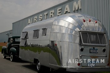 1953 Airstream Flying Cloud polished