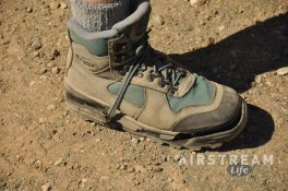 Organ Pipe boot closeup