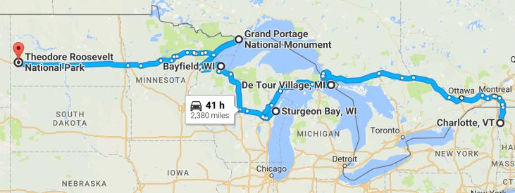 Summer 2016 trip part 1