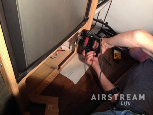 Airstream power distribution panel-4