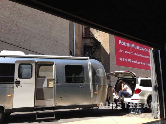 Chicago Airstream alley Polish