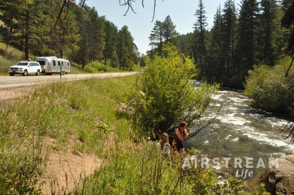 CO North Fork South Platte river Airstream