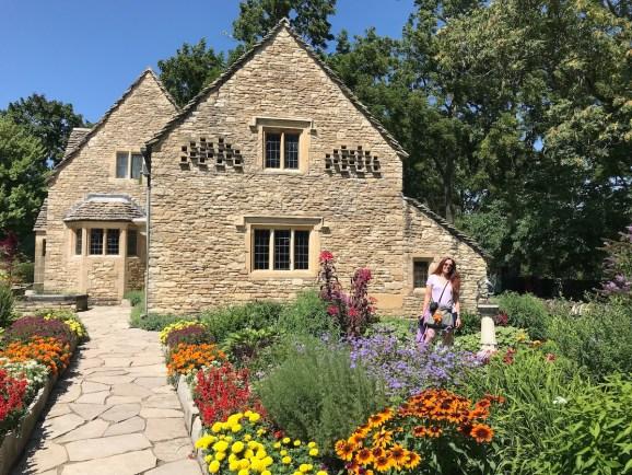 Dearborn Village flowers house