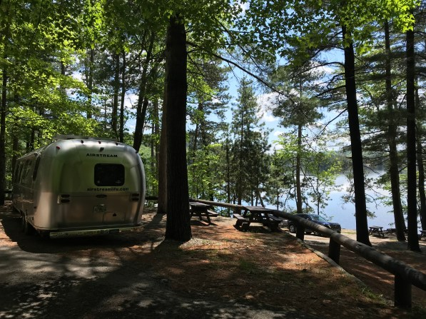 Eagle Point campground Pottersville NY Airstream1