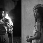 Hayat jeune fille et son père avant le sacrifice © 2019 Image Nation Abu Dhabi FZ LLC