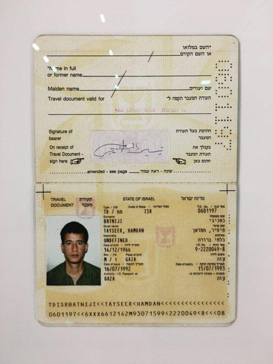 """""""ID Project"""", 1993-2020, Taysir Batniji ©️ Laure-Anne Ricaud"""