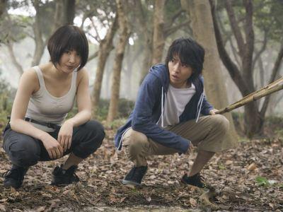 Tao Tsuchiya et Kento Yamazaki dans Alice in Borderland © Netflix