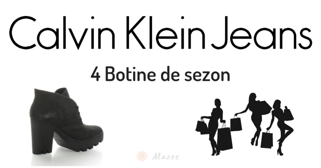 botine calvin klein jeans mazee.ro