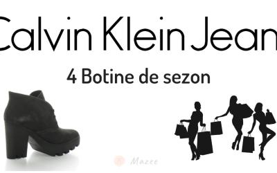 4 Botine Calvin Klein Jeans – perfecte pentru sezonul rece