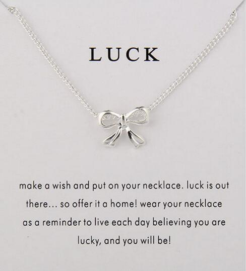 Gift of Luck Bow Necklace 2