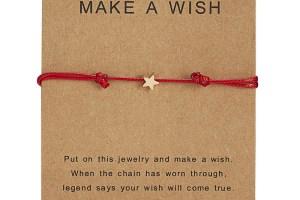 Red String Star Bracelet 2