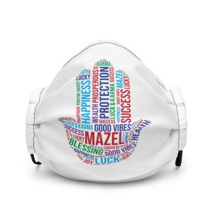Hamsa Mazel Premium face mask